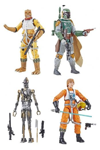 Star Wars The Black Series Archive Line 2019 Wave 1 Complete set of 4
